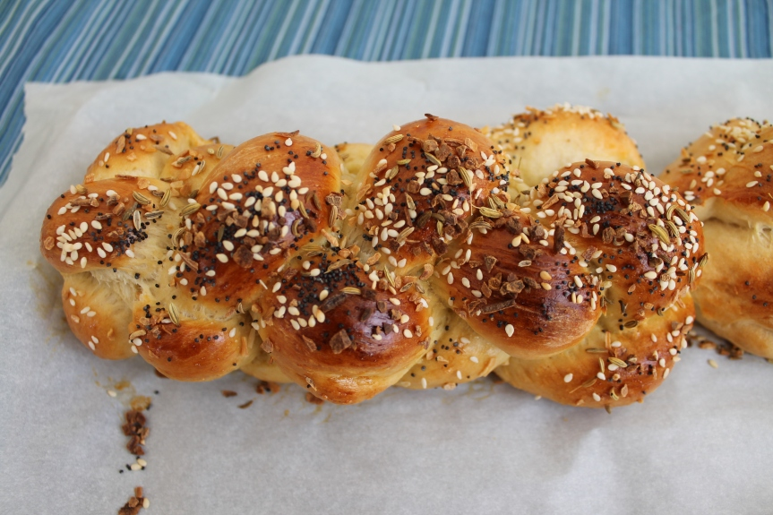 Easy One Bowl Challah